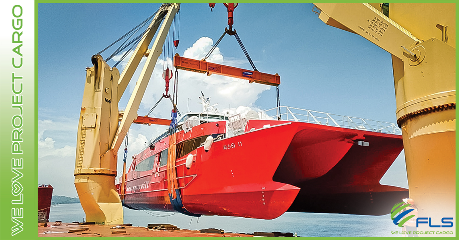 FLS PROJECTS VIETNAM - WORLDWIDE SHIP DELIVERY PROFESSIONALS