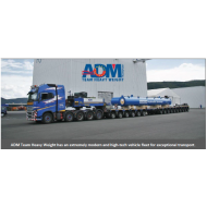 ADM Team Heavy Weight has an extremely modern and high-tech vehicle fleet for exceptional transport.