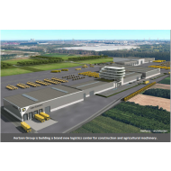 Aertsen Group is building a brand new logistics center for construction and agricultural machinery.